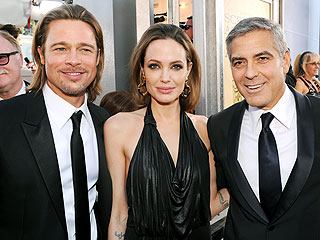 George Clooney, Other Stars Congratulate Brad & Angelina on Their Surprise Wedding
