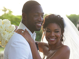 Gabrielle Union & Dwyane Wade Wed – See the Romantic Photo!