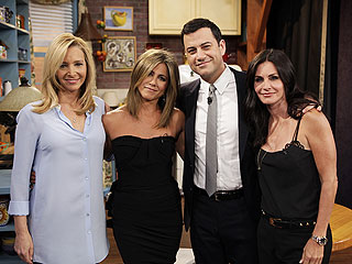 Jimmy Kimmel Reunites the Cast of Friends