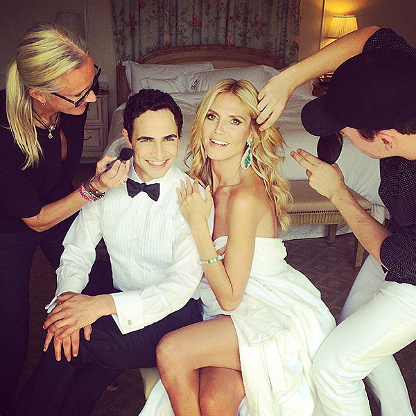 See Heidi, Sarah & More Get Ready for the Emmys