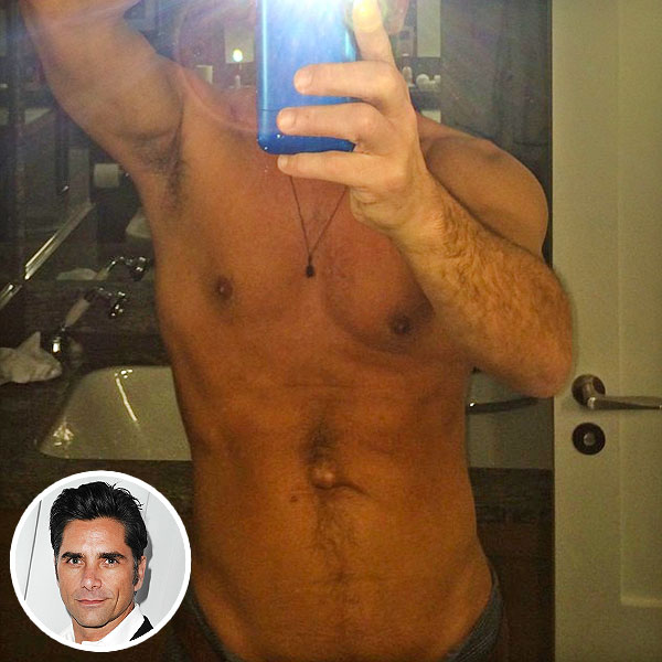 John Stamos: Shirtless Selfie
