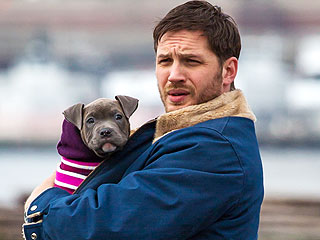 Tom Hardy Is Smitten with His Furry Costar from The Drop