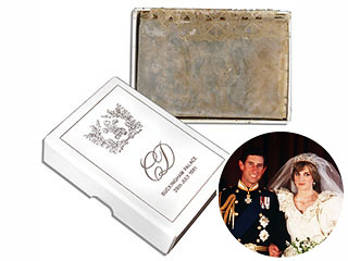 Sold! Cake Slice from Charles & Diana's 1981 Wedding Snapped Up at Auction | Prince Charles, Princess Diana