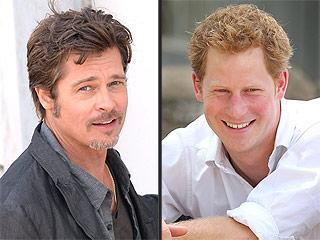 Brad Pitt on Prince Harry's Invictus Games: 'Bring It On!' | Brad Pitt, Prince Harry