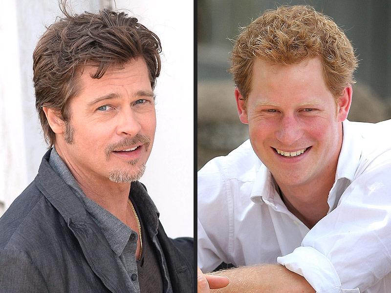 Brad Pitt on Prince Harry's Invictus Games: 'Bring It On!'