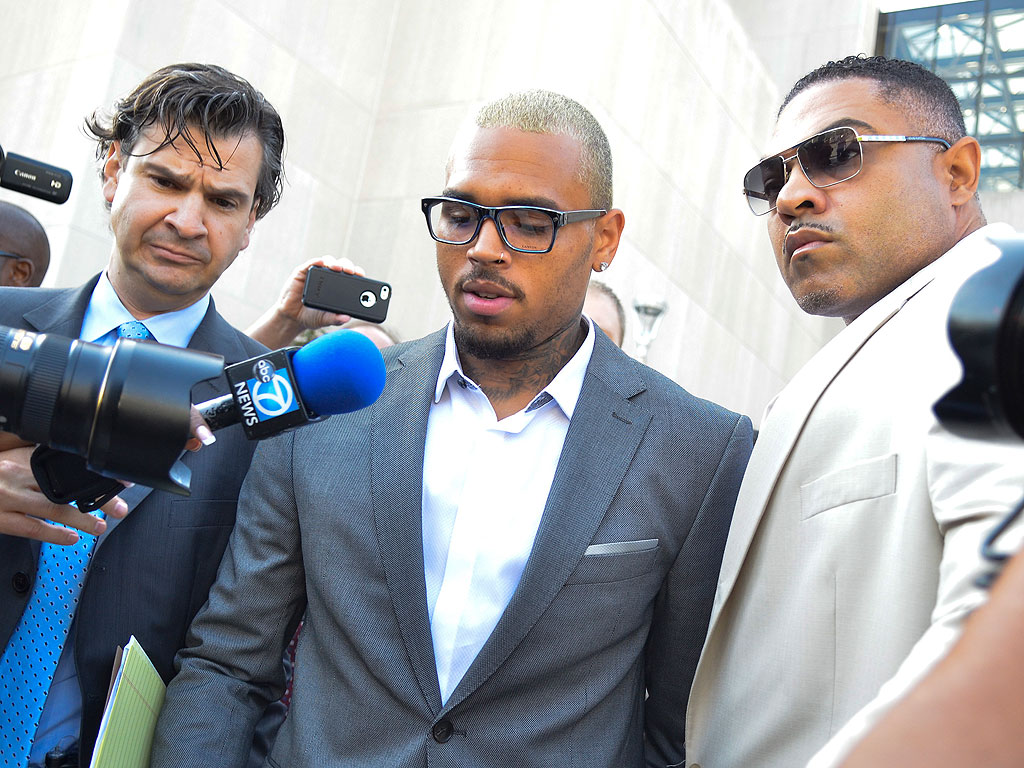 Chris Brown Pleads Guilty to Assault