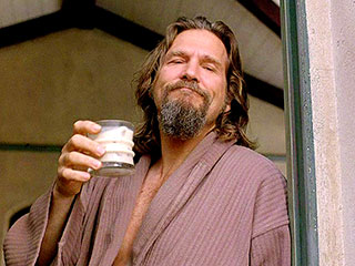 Jeff Bridges Channels 'The Dude' in White Russian Tribute (VIDEO)