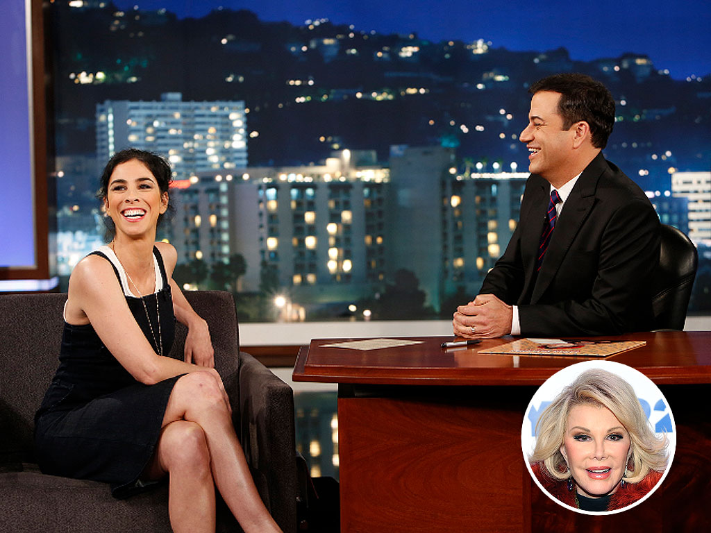 Sarah Silverman and Jimmy Kimmel Trade Insults in Salute to Joan Rivers