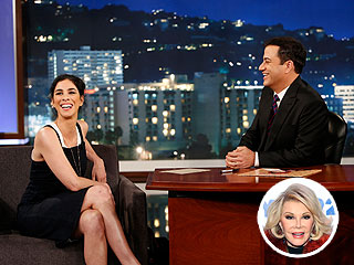 Sarah Silverman and Jimmy Kimmel Trade Insults in Salute to Joan Rivers | Jimmy Kimmel, Joan Rivers, Sarah Silverman
