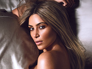 Kim Kardashian Poses Nude for British GQ (PHOTOS) | Kim Kardashian