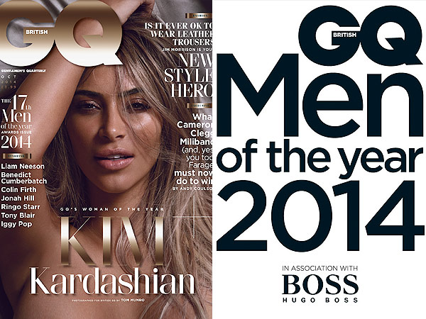 Kim Kardashian Poses Nude for British GQ| Kim Kardashian