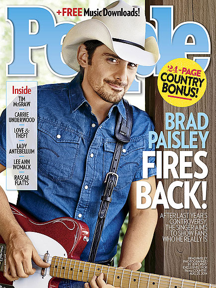 Brad Paisley Interview on Family, Accidental Racist