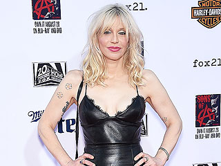 Courtney Love: My Relationship with Frances Bean Is 'Really Good'