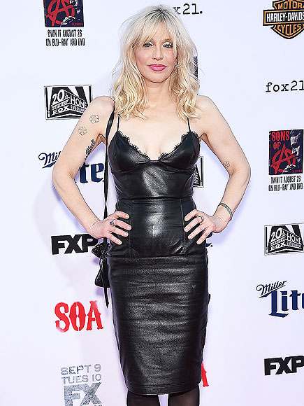 Courtney Love Says Relationship with Daughter Frances Bean is Improving