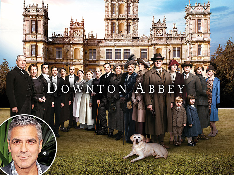 George Clooney to Visit Downton Abbey