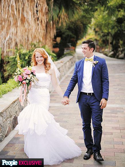 Katie LeClerc Weds Brian Stuart Habecost