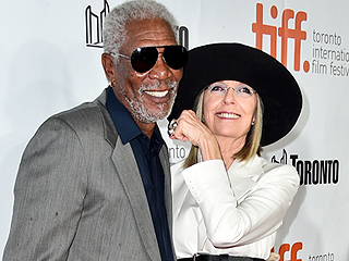 Who Was Diane Keaton Kissing on the Red Carpet?