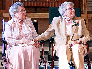 Newlyweds at 90: Two Iowa Women Finally Marry After 72 Years Together