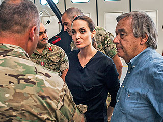 Angelina Jolie Mixes Work and Play on Malta Honeymoon | Angelina Jolie