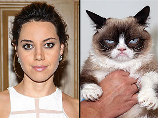 Aubrey Plaza to Voice Grumpy Cat in Lifetime's Grumpy Cat's Worst Christmas Ever