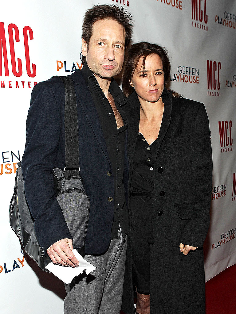 David Duchovny and T&#...