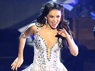 Janel Parrish's DWTS Blog: My Performance Last Week Was a 'Frenzied Blur' | Janel Parrish