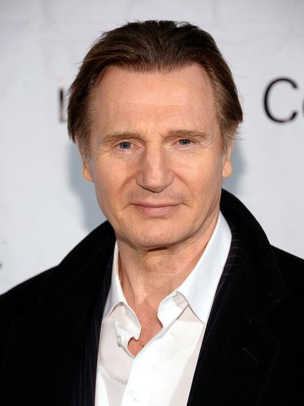 Liam Neeson, Action Star Reveals What Makes Him a Wimp