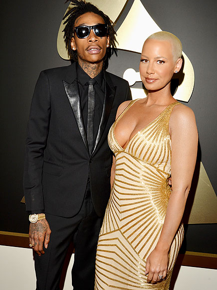 Amber Rose Is Divorcing Wiz Khalifa