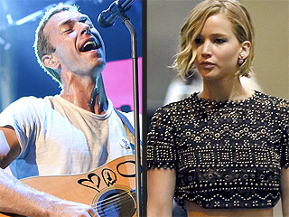 Jennifer Lawrence Joins Chris Martin at Coldplay Concert in Vegas