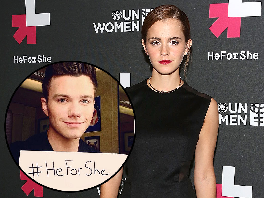 See the Famous Men Who've Posted #HeForShe Selfies for Emma Watson