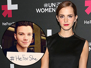 Harry Styles, Russell Crowe & More Support Emma Watson with #HeForShe Selfies