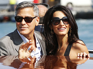 George & Amal! Matt & Luciana! Wedding Festivities Begin in Venice