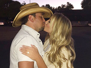 Brittany Kerr Flashes Ring from Jason Aldean: 'We've Been on Cloud Nine' | Jason Aldean