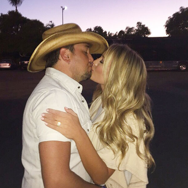 Jason Aldean & Brittany Kerr Engaged: Bride-to-Be Shows Off Engagement Ring