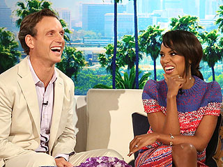 Kiss and Tell! Kerry Washington Spills About Smooching Her Scandal Costars