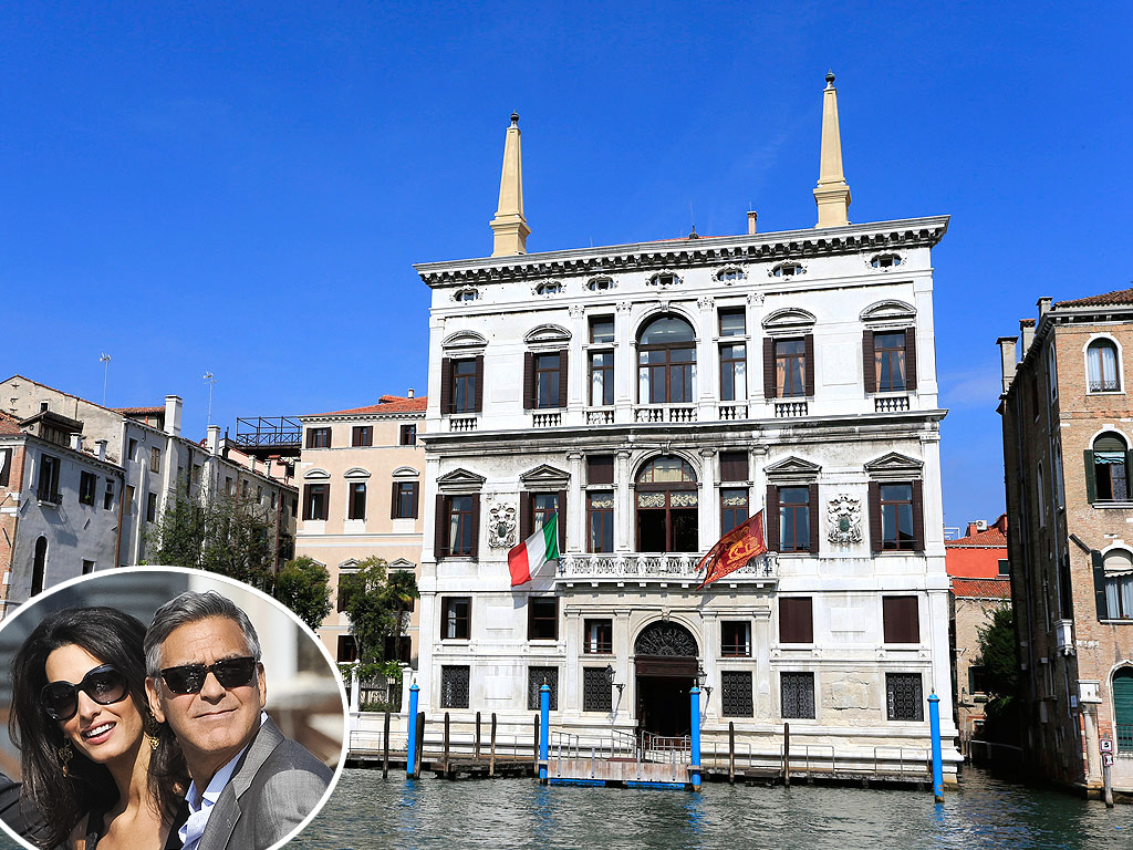 George Clooney Wedding: All About Ceremony Venue Aman Canal Grande Venice