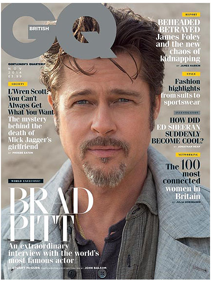 Brad Pitt Says Marriage Isn't 'Just a Title' – and Talks About His Friendship with George Clooney| Couples, Angelina Jolie, Brad Pitt, George Clooney