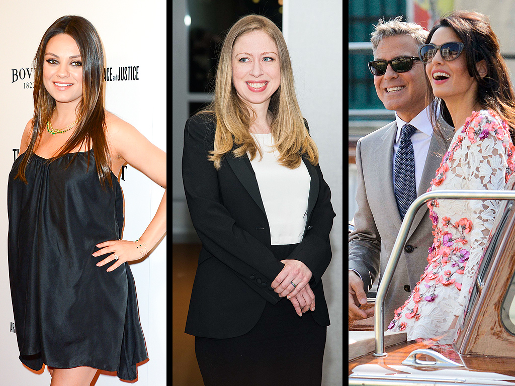 George Clooney Gets Married, Chelsea Clinton Delivers & More Weekend News