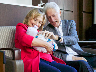 Hillary Clinton's Debate Prep Included a Sing-Along Birthday Party for Granddaughter Charlotte