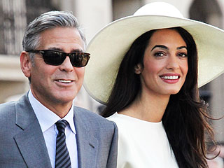 First Photo! See George and Amal on Their Wedding Night | Amal Alamuddin, George Clooney