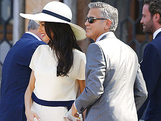 George and Amal Close Out Wedding Weekend with Private Civil Ceremony