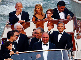 George and Guests Board Boats at Sunset and Head to Wedding (PHOTOS)