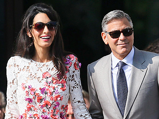 Meet Mr. and Mrs. Clooney! The Newlyweds Step Out in Venice