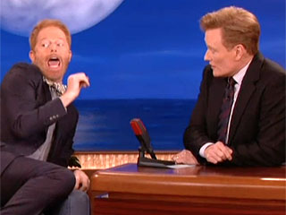 Jesse Tyler Ferguson and Eric Stonestreet Share Awkward Moment in a Frat House