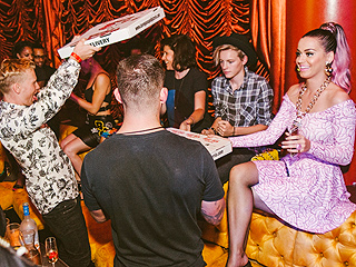 Katy Perry Parties with Diplo in Las Vegas (Again!)