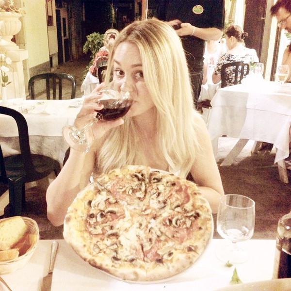 Lauren Conrad Post-Wedding Italian Diet
