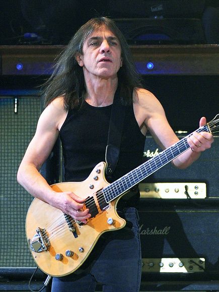 AC/DC's Malcolm Young Has Dementia