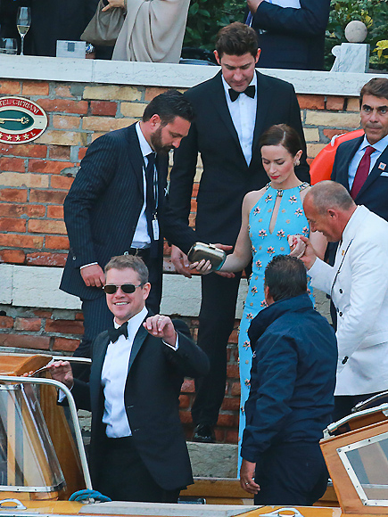 George Clooney Wedding: Actor and Guests Head to Ceremony ...