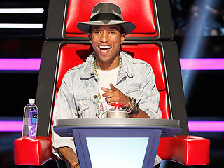 The Voice: Pharrell Williams Gets on His Knees and Begs | Pharrell Williams