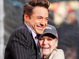 Robert Downey Jr. on His Late Mom: She Got Me Sober